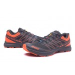 Salomon S-LAB Sense Speed Trail Running Shoes In Gray Orange