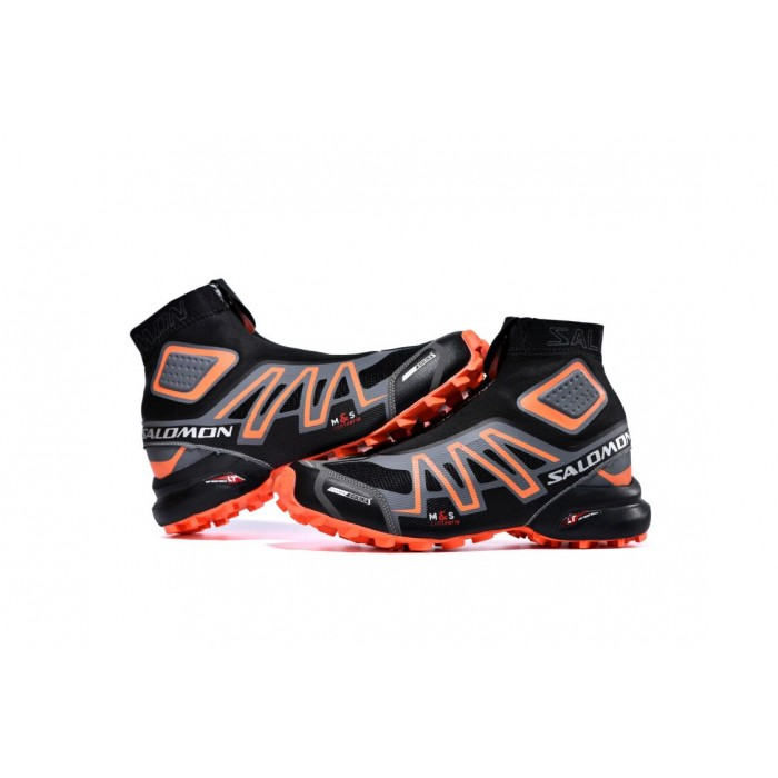 Salomon Snowcross CS Trail Running Shoes In Black Orange