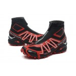 Salomon Snowcross CS Trail Running Shoes In Black Red