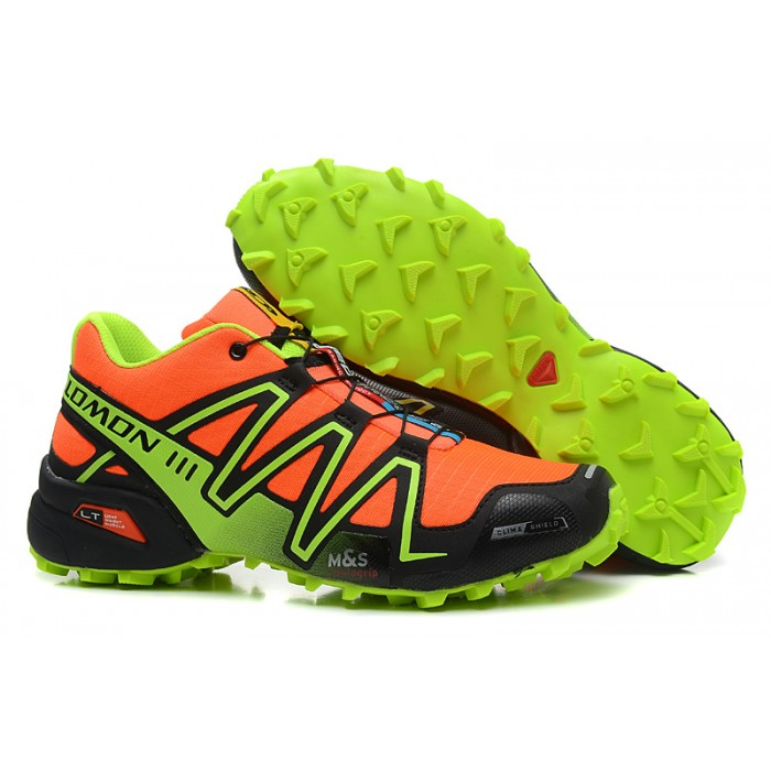 Men's Salomon Speedcross 3 CS Trail Running Shoes In Orange