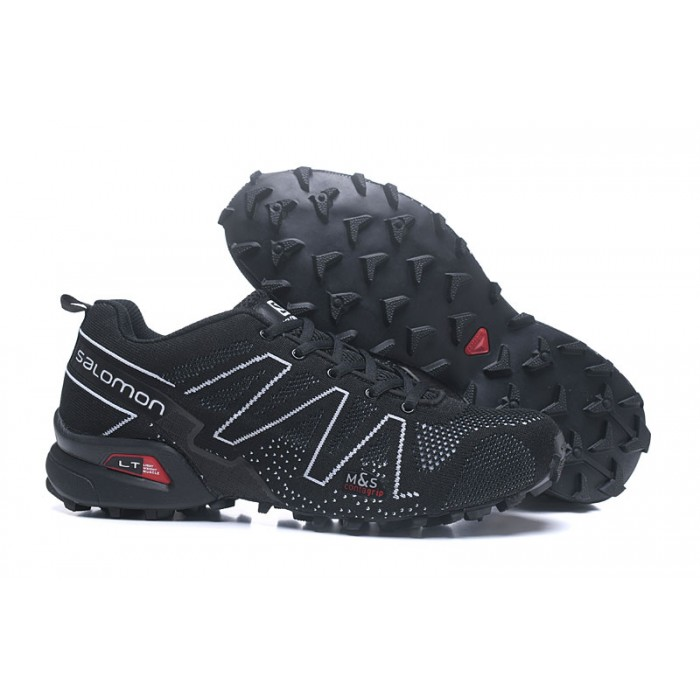 Salomon Speedcross 3 Adventure Shoes In Black White