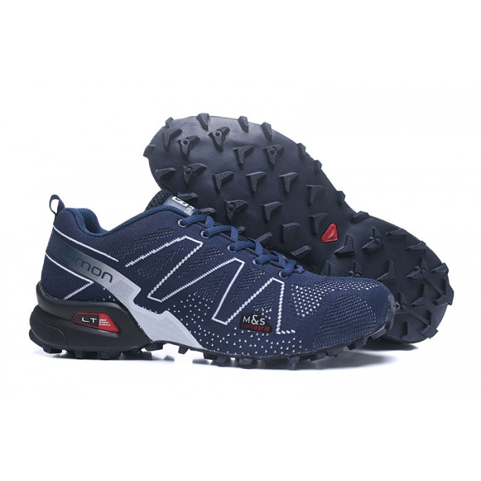 Salomon Speedcross 3 Adventure Shoes In Blue White