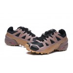 Salomon Speedcross 5 GTX Trail Running Shoes In Black khaki