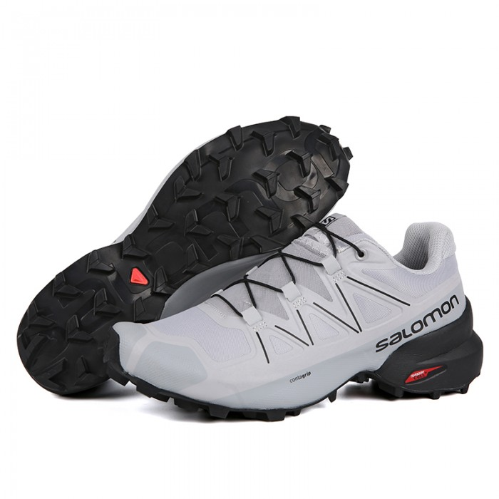Salomon Speedcross 5 GTX Trail Running Shoes In White