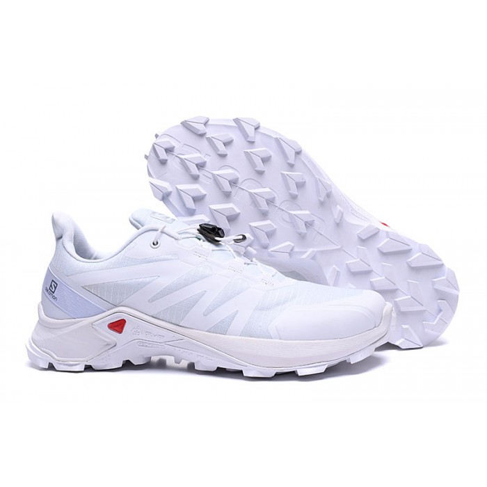 Salomon Speedcross GTX Trail Running Shoes In Full White