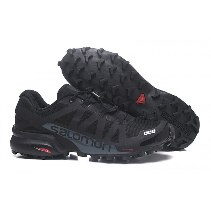 Men's Salomon Speedcross Pro 2 Trail Running Shoes In Black