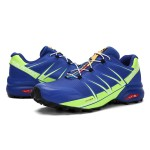 Salomon Speedcross Pro Contagrip Shoes In Blue Fluorescent