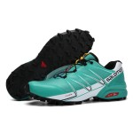 Salomon Speedcross Pro Contagrip Shoes In Lack Blue White